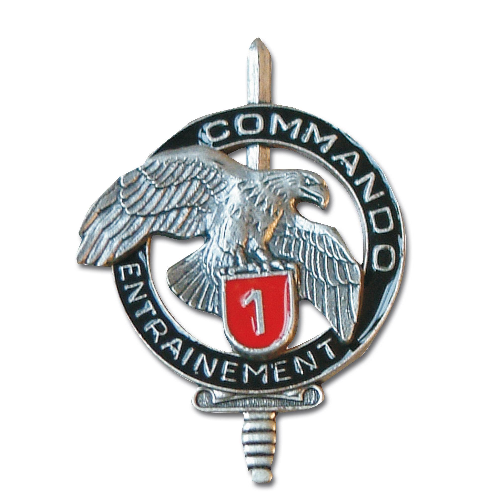 French Insignia Commando CEC 1