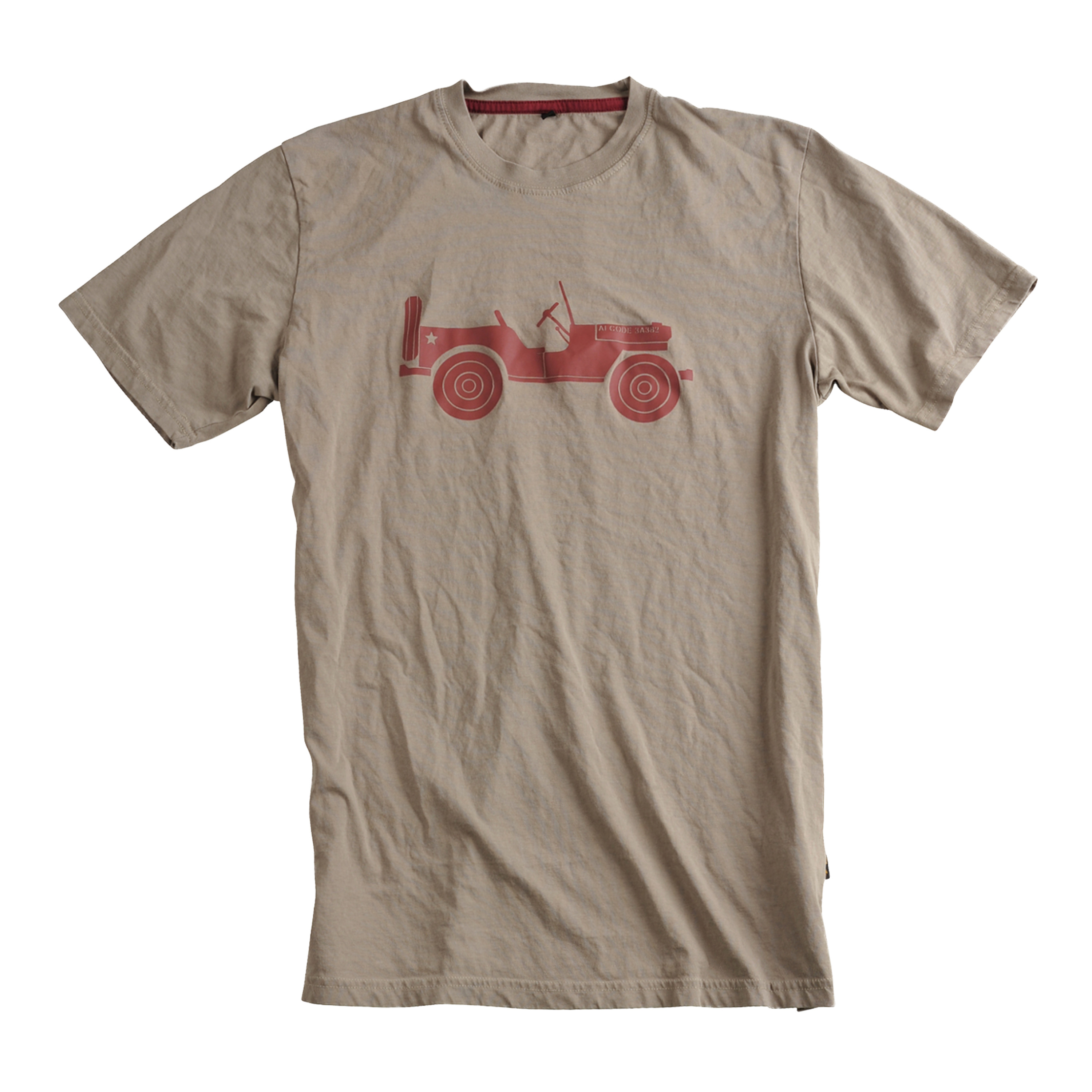 Alpha Industries T-Shirt Willys khaki