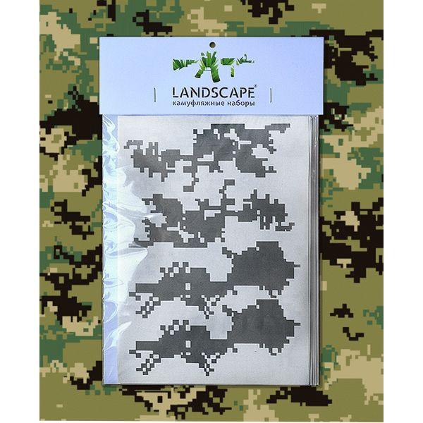 Landscape Camo Stencil marpat