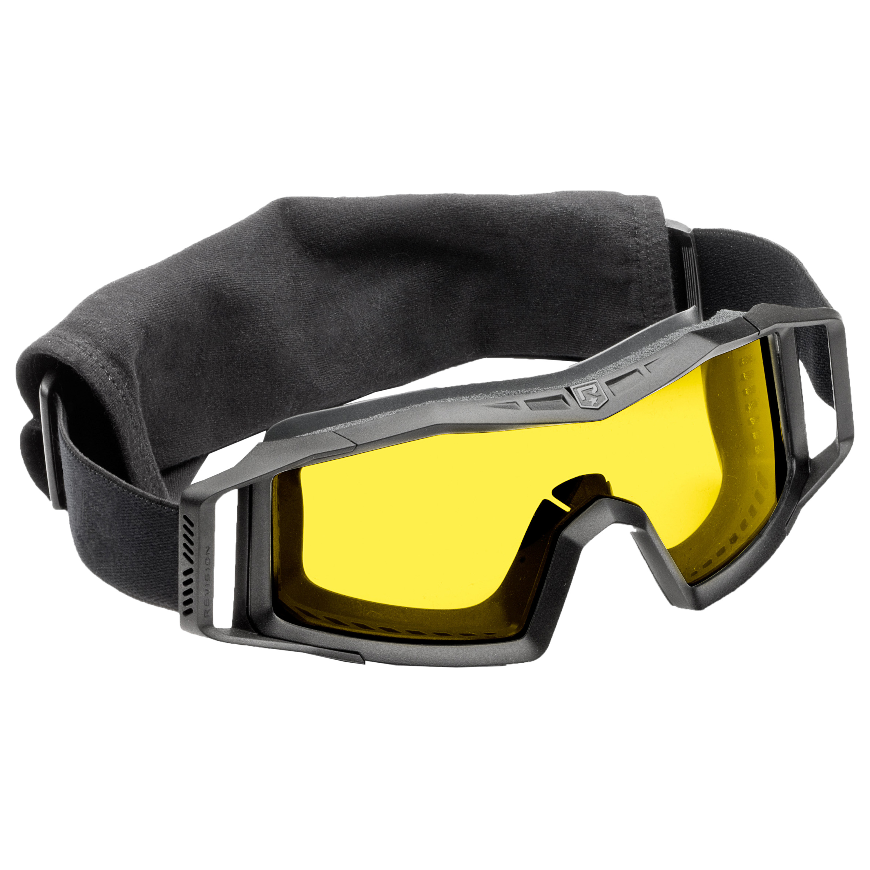 Revision Goggles Wolfspider Basic black/yellow lens