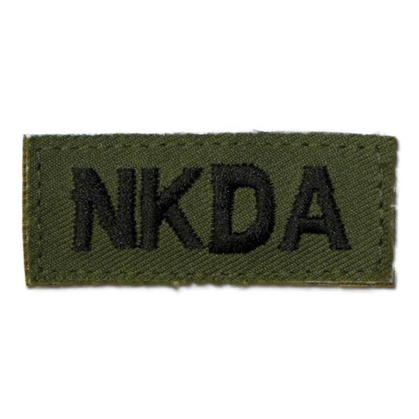 Insignia Textile NKDA Velcro olive