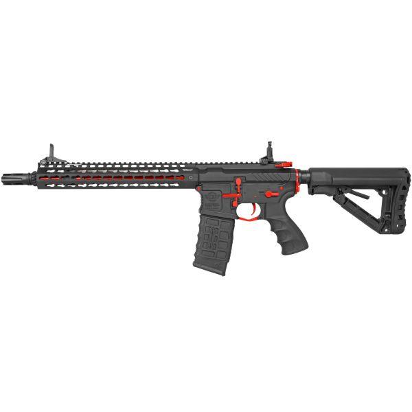 G&G Airsoft Rifle CM16 E.T.U. SRXL S-AEG red