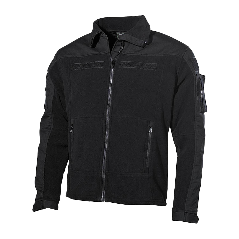 Fleece Jacket Combat black