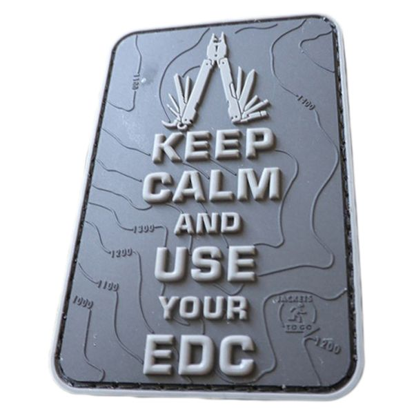 """JTG 3D Patch """"Keep Calm And Use Your EDC"""" blackops"""