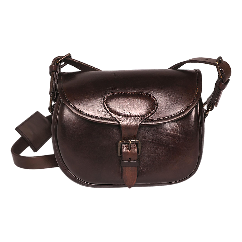 Shoulder Bag Leather brown