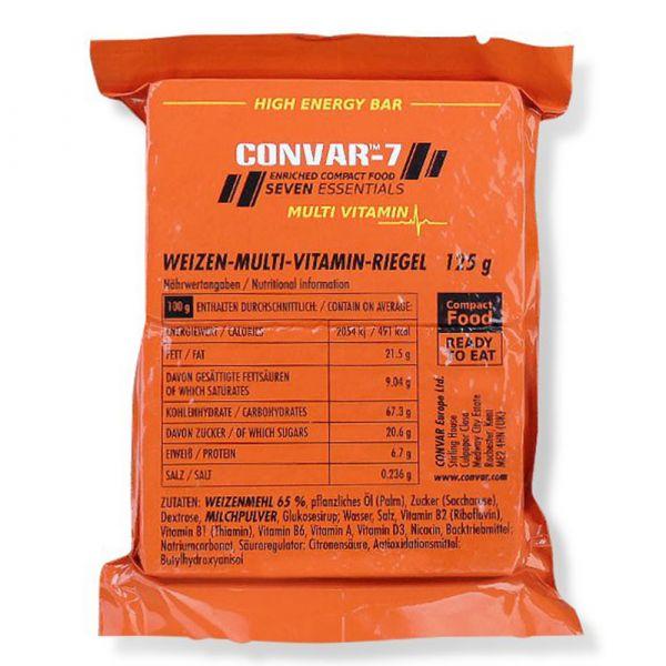 Convar-7 High Energy Bar Multi Vitamin