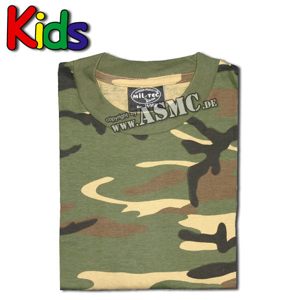 T-Shirt Kids woodland