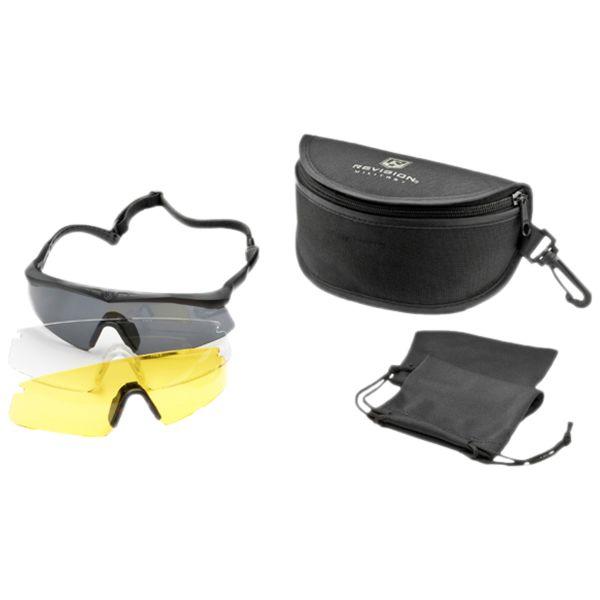 Revision Eyewear Sawfly Pro Mission Kit black/yellow