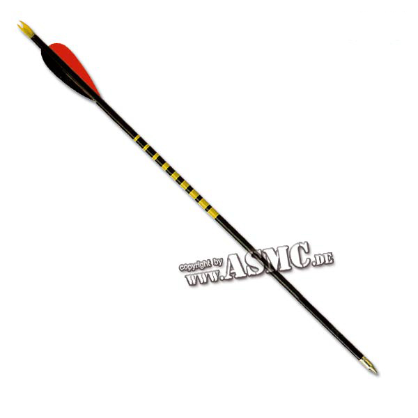 "Wooden Arrow 26"" black"