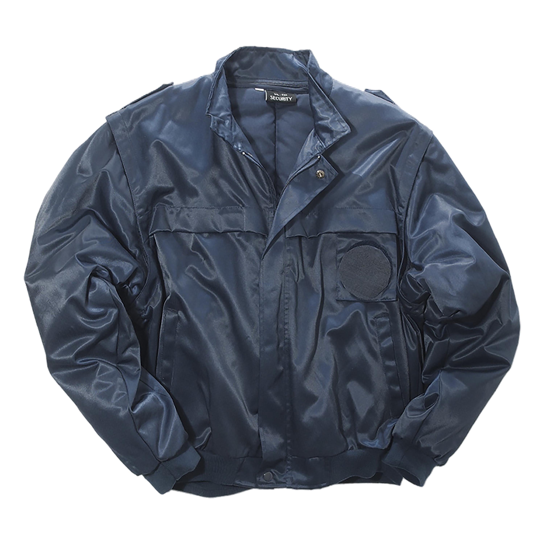 Security Blouson Basic with Zipper dark blue