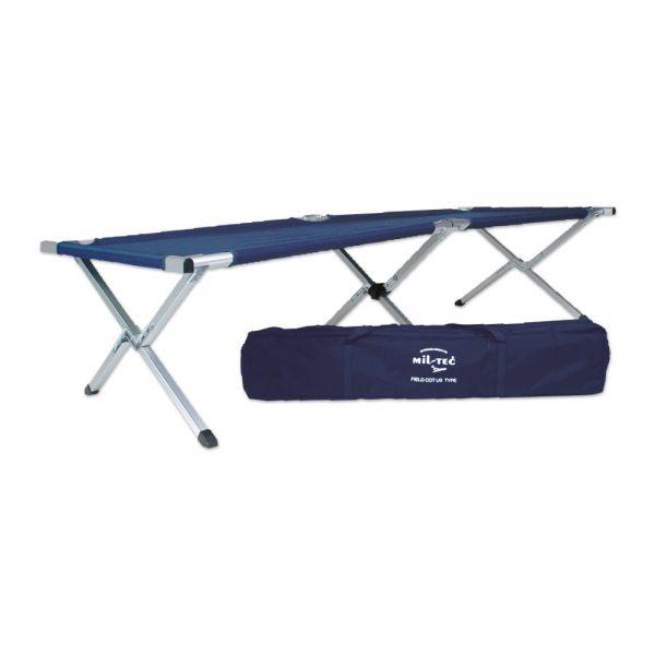 Folding Cot US Style blue