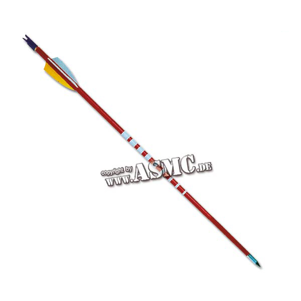 """Sports Arrow Wooden red 26"""""""