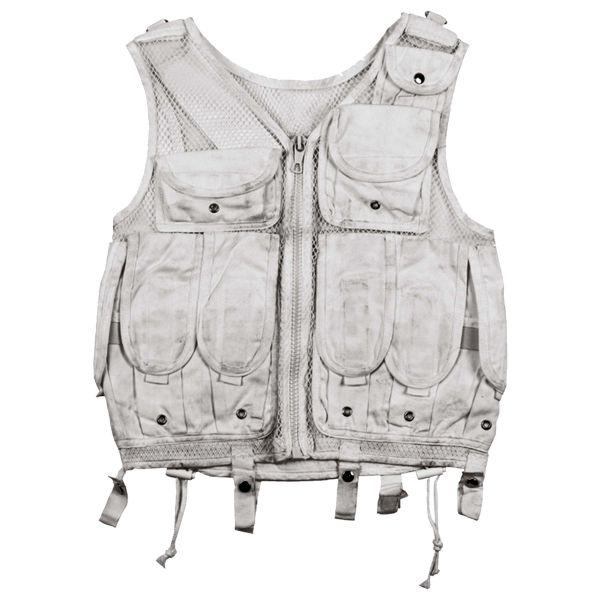 Used Italian Army Combat Vest Winter white