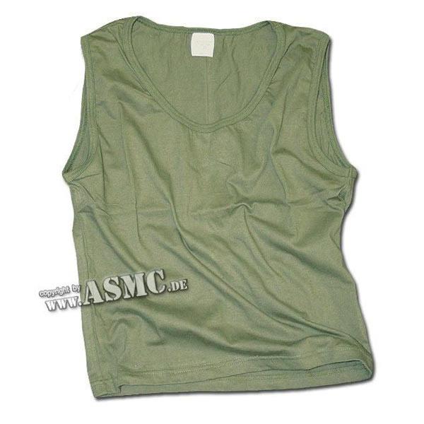 Girly Tank Top oliv short