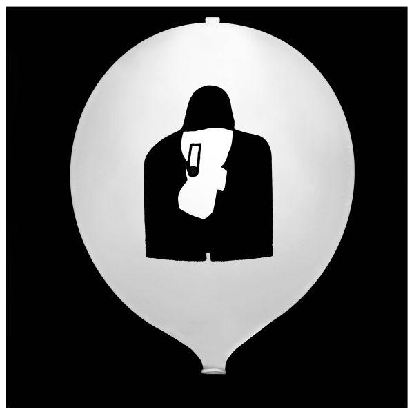 KNIXS Tac Balloon White Continuous Light LED white