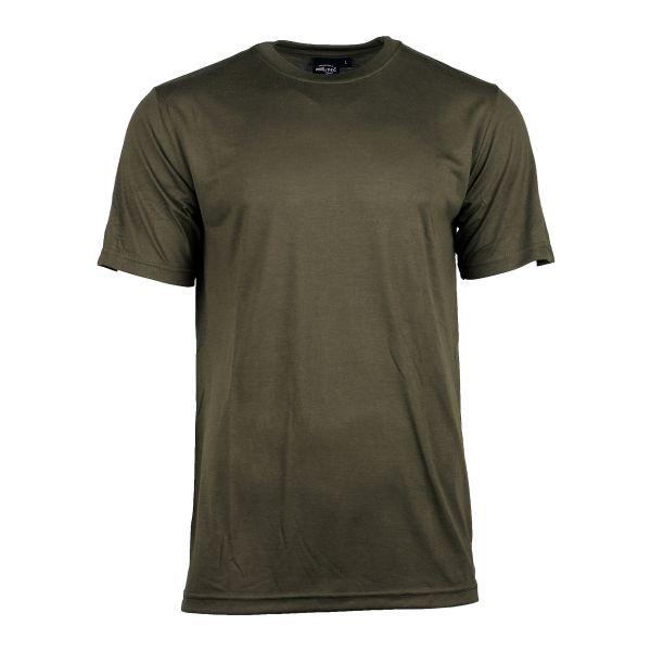 Mil-Tec T-Shirt CoolMax olive
