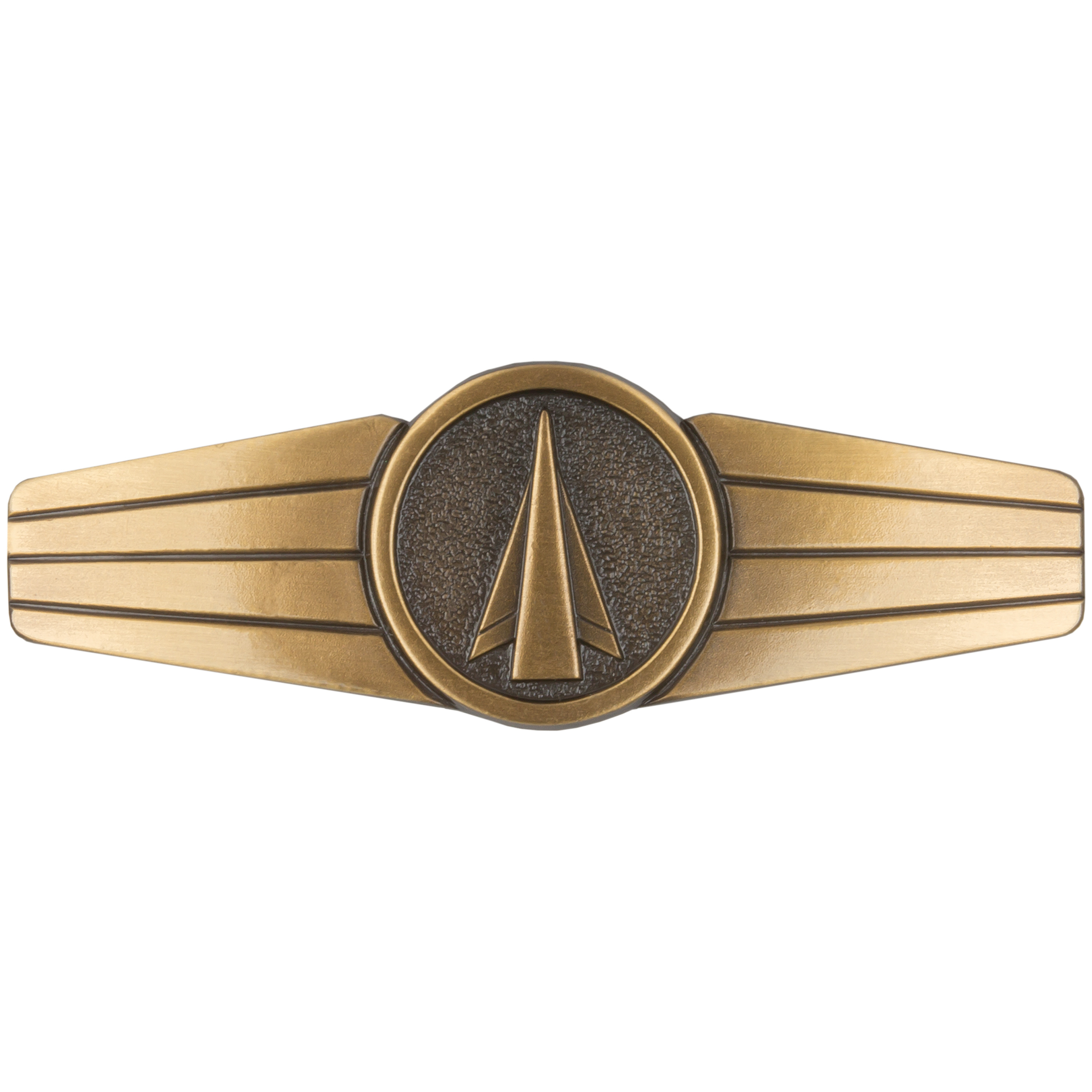 Metal Skill Insignia German Rocket and Missile Personnel bronze