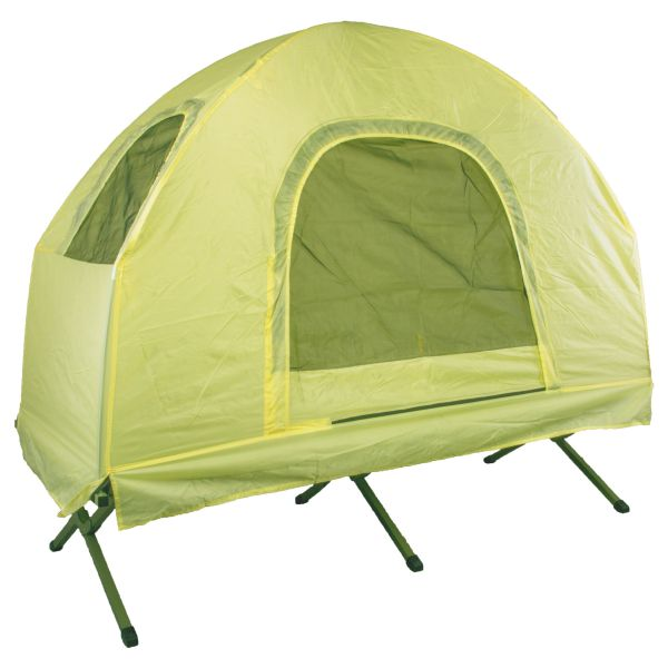 Field Bed with Tent yellow