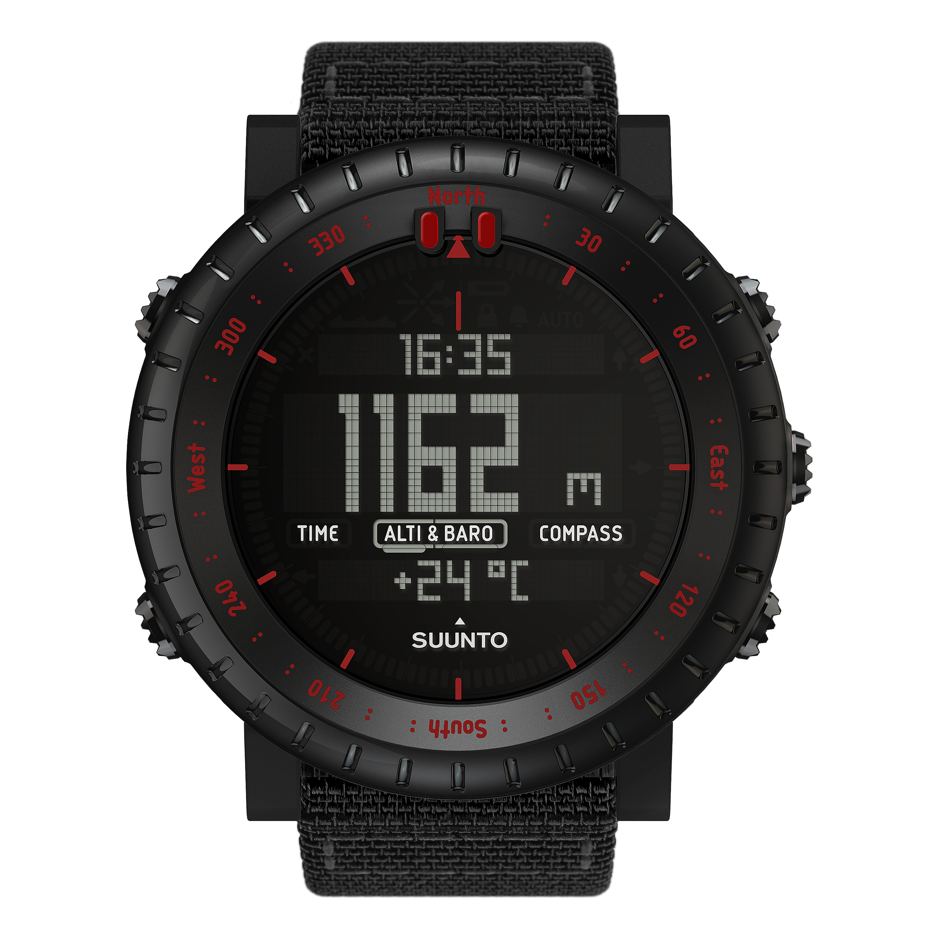 Suunto Watch Core Tac Edition black/red