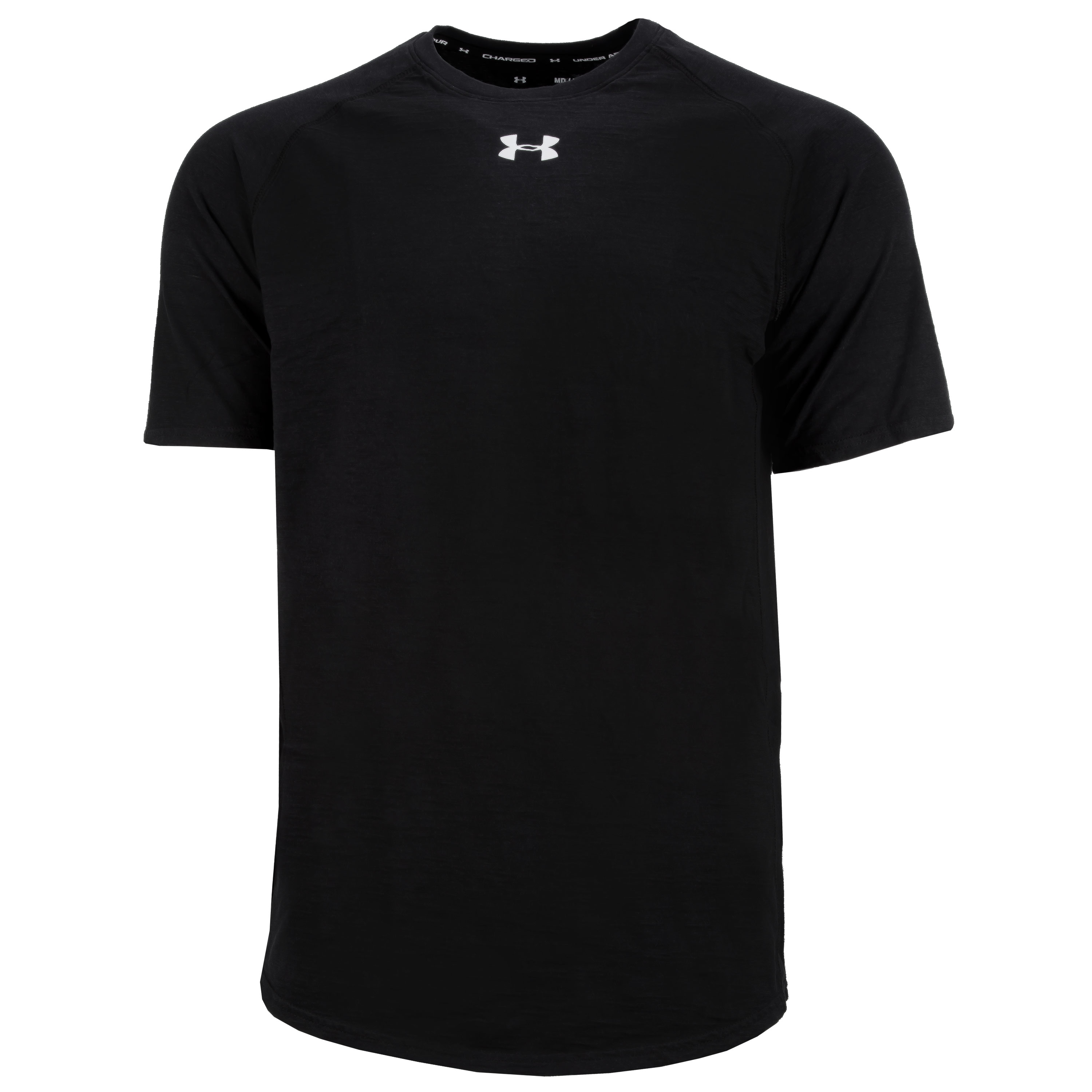 Under Armour Shirt Charged Cotton SS black