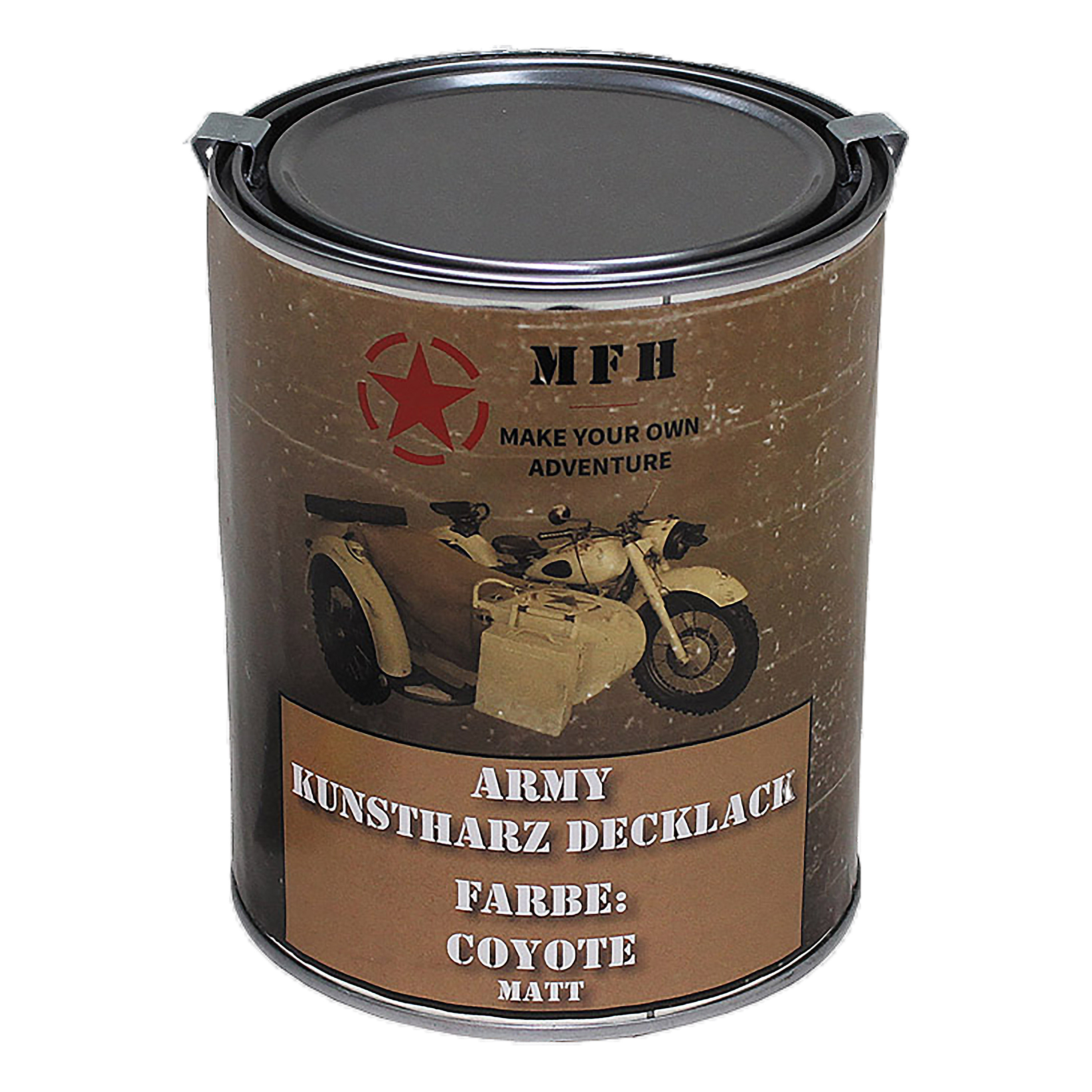 Synthetic Resin Covering Lacquer Army Dull coyote 1 L