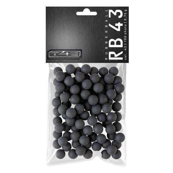 T4E Home Defense Rubberballs Prac Series Caliber .43 100 Shot