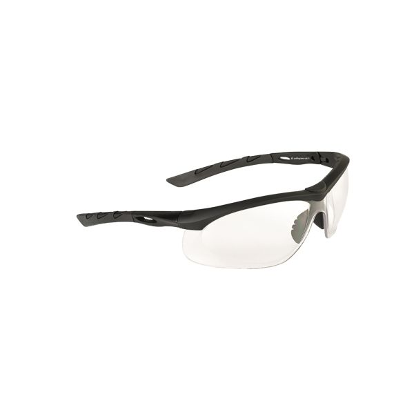 Swiss Eye Safety Glasses Lancer black/clear