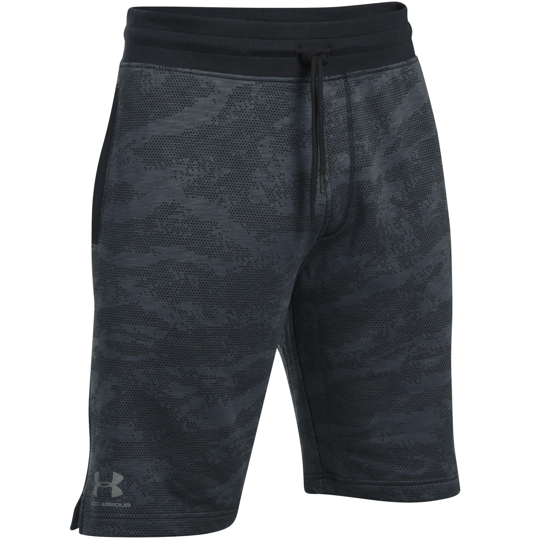 Under Armour Fitness Short Camo Fleece black