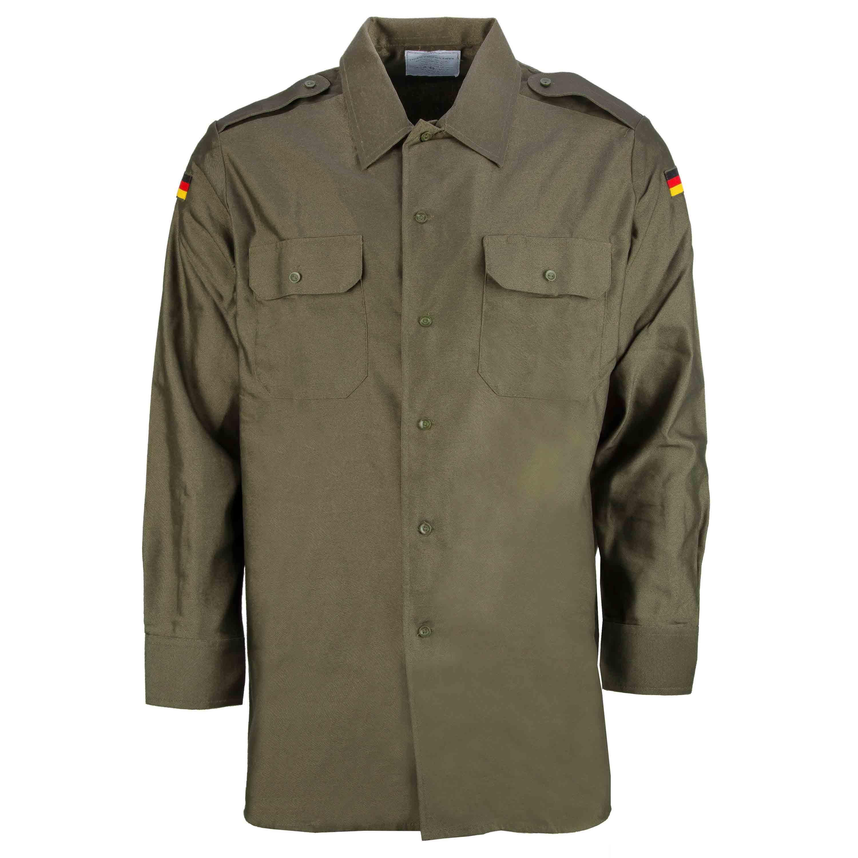German Army Field Shirt olive green