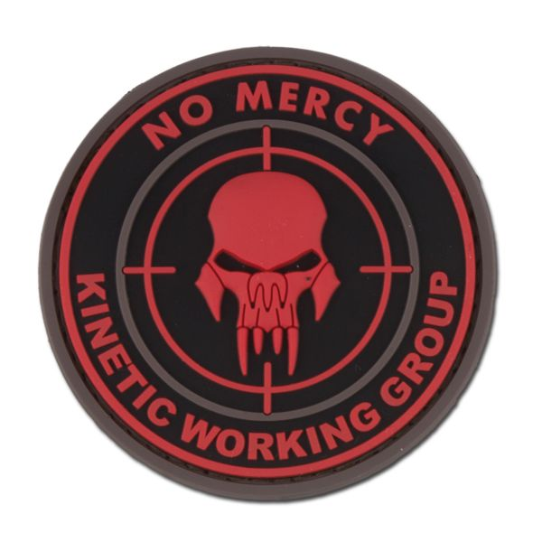 3D-Patch NO MERCY - KINETIC WORKING GROUP blackmedic