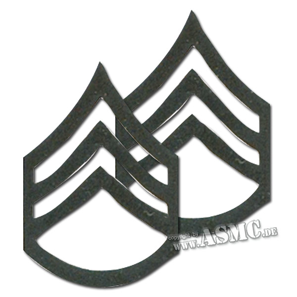 Rank Insignia U.S. Staff Sergeant subdued