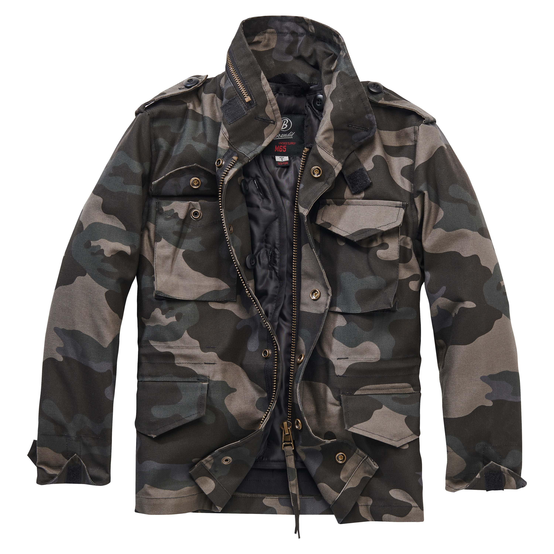 Brandit M65 Standard Jacket Kids darkcamo