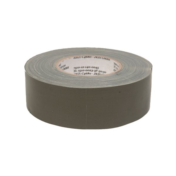 Duct Tape BW 75 mm x 50 m Roll olive