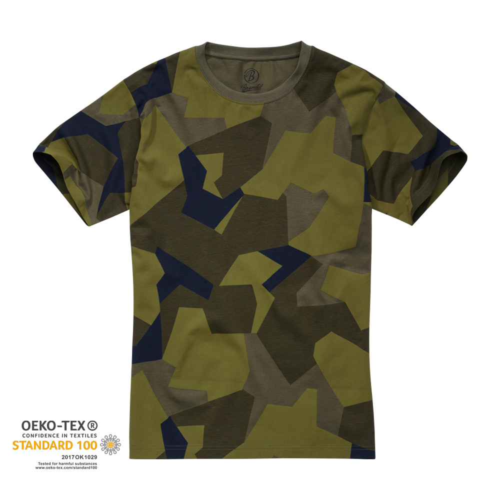 Brandit T-Shirt Swedish camo