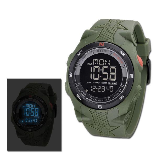 Wristwatch KHS Sentinel DC olive