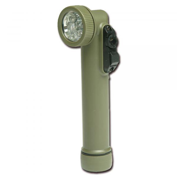 Flashlight Multi-LED Import small olive