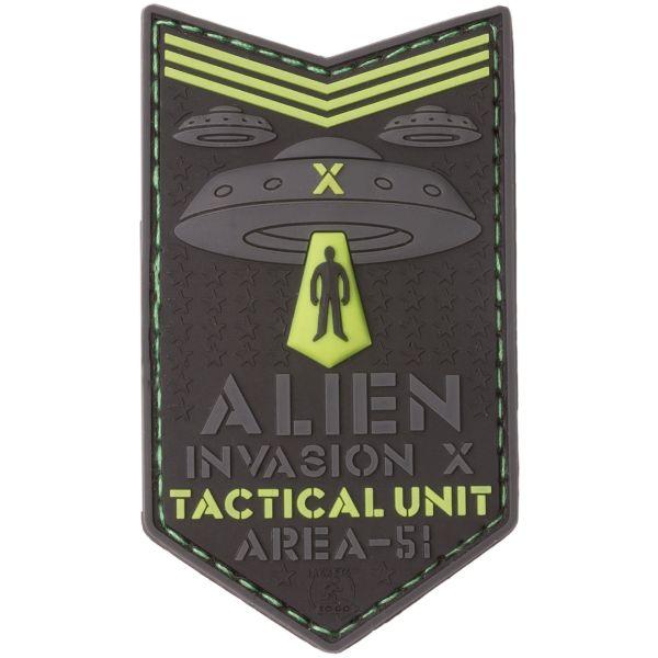 JTG 3D Patch Alien Invasion X File Tactical Unit GID