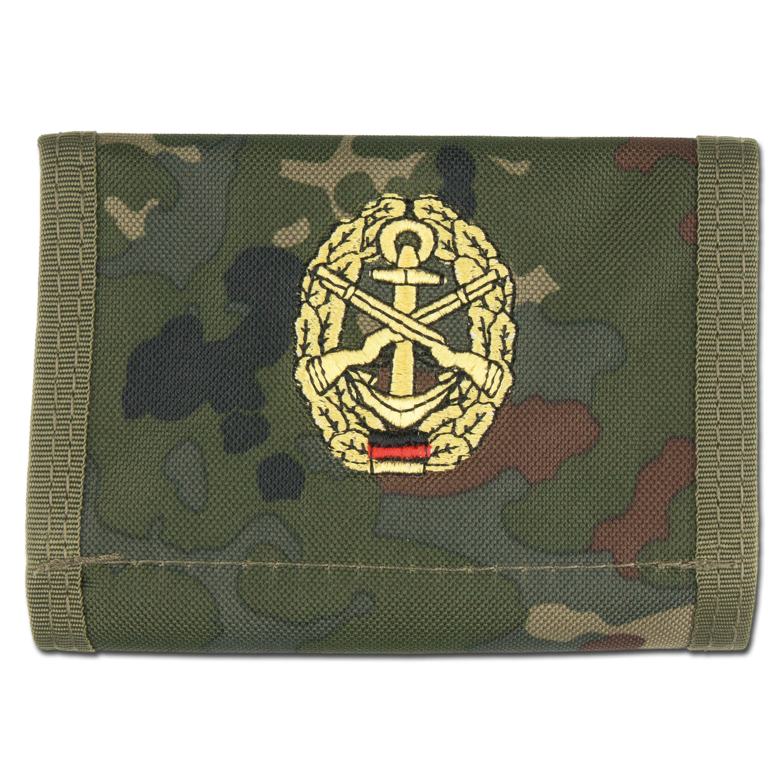 Wallet Marinesicherung flecktarn
