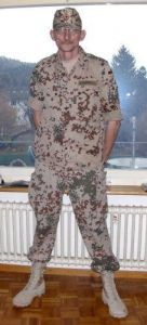 Fleckdesert Uniform