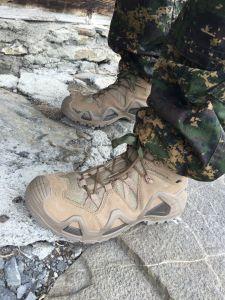 Solides Schuhwerk!