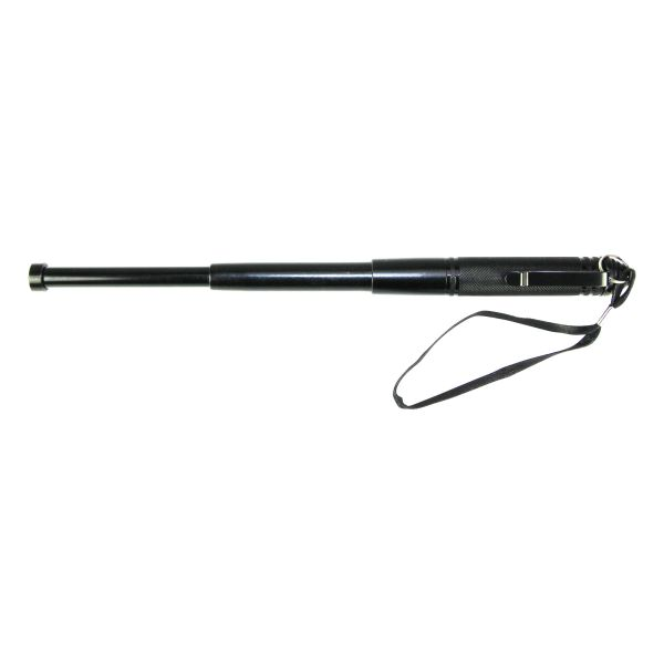"""Telescopic Baton 13"""" with Clip black"""