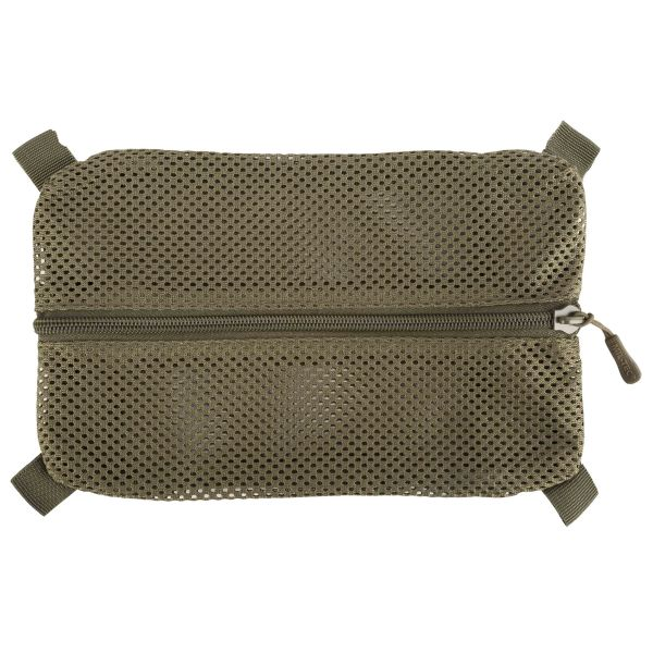 Mil-Tec Mesh Bag with Velcro L olive