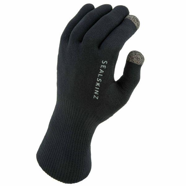 Sealskinz Gloves Waterproof All Weather Ultra Grip black