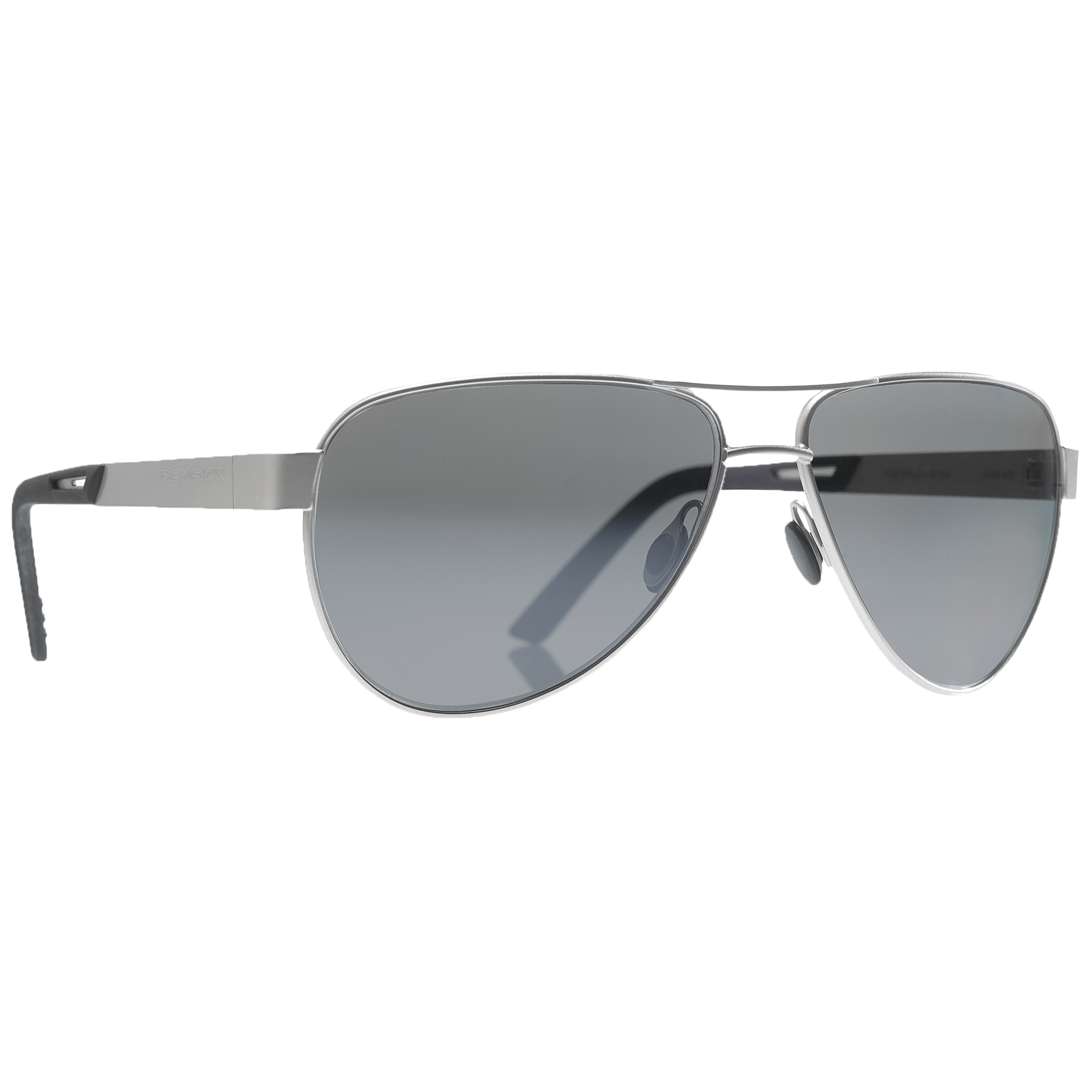 Revision Sunglasses Alphawing Sport silver mirror