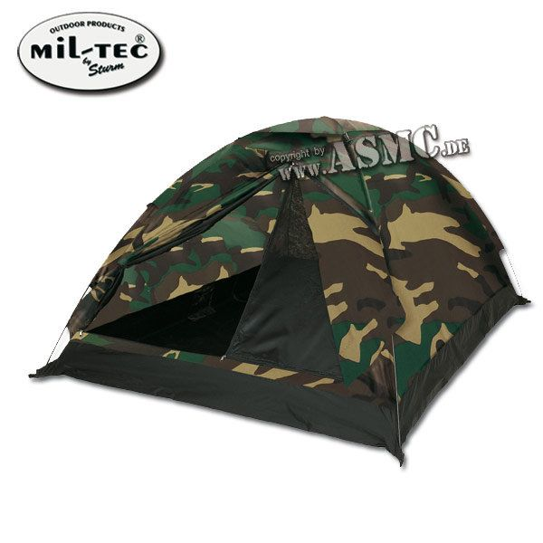 Dome Tent Basic woodland 3 persons
