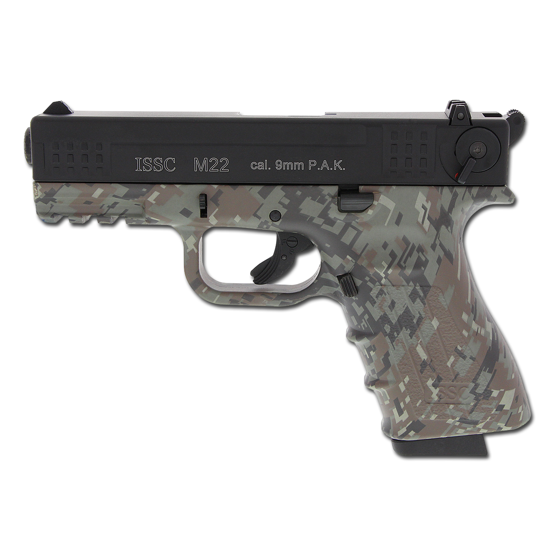 Pistol ISSC M22 digital camo