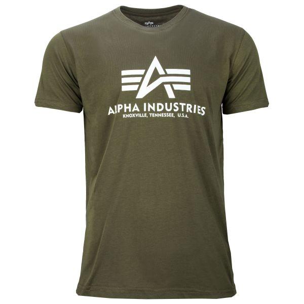 Alpha Industries T-Shirt Basic dark olive