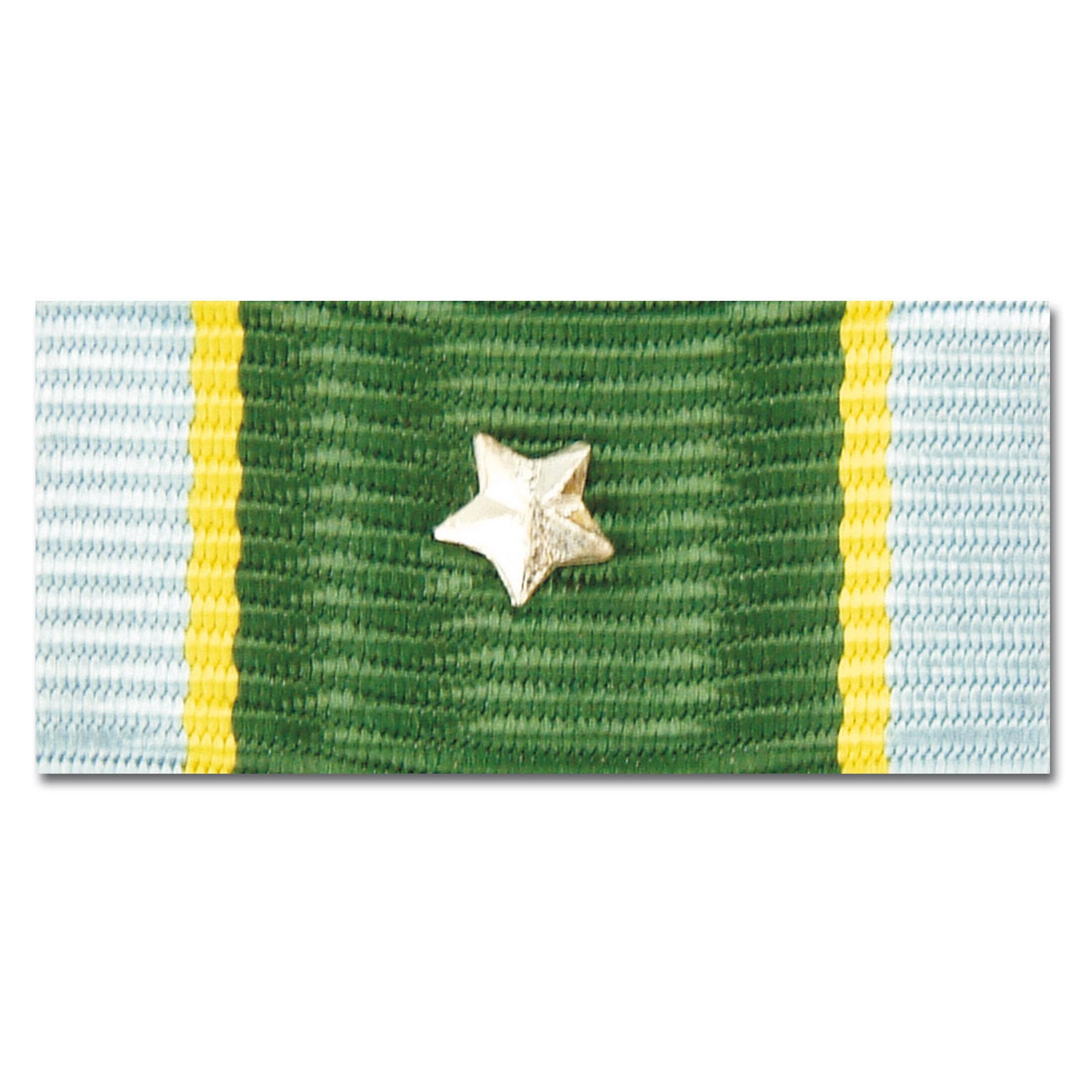 U.S. Service ribbon Sharpshooter silver