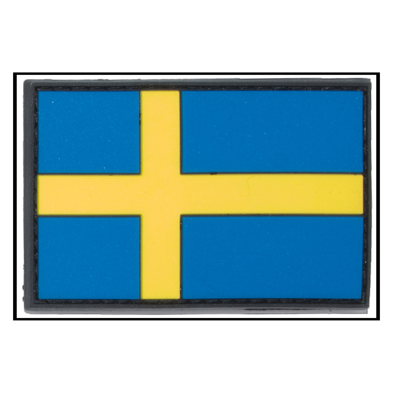 3D-Patch Flag Sweden