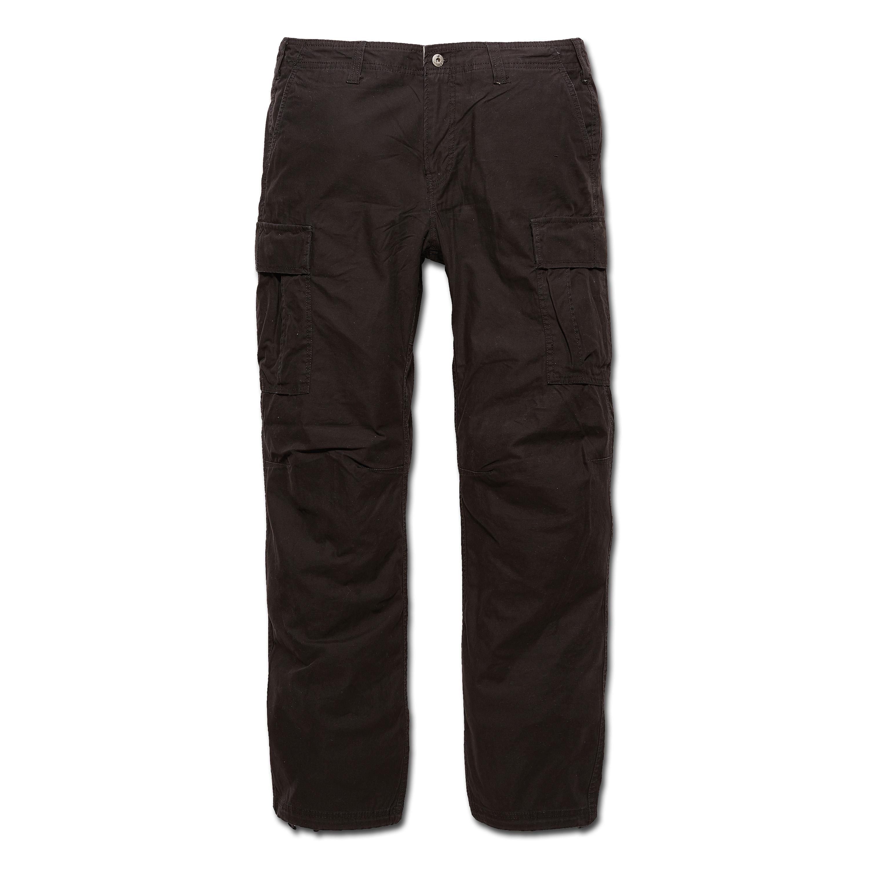 Pants Vintage Industries BDU Reydon black